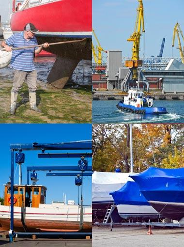Ondersteuning rondom havens, scheepswerven en schepen. Bootveiling.com